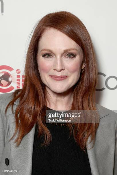 Actor Julianne Moore at CinemaCon 2017 Paramount Pictures Presentation Highlighting Its Summer of 2017 and Beyond at The Colosseum at Caesars Palace...