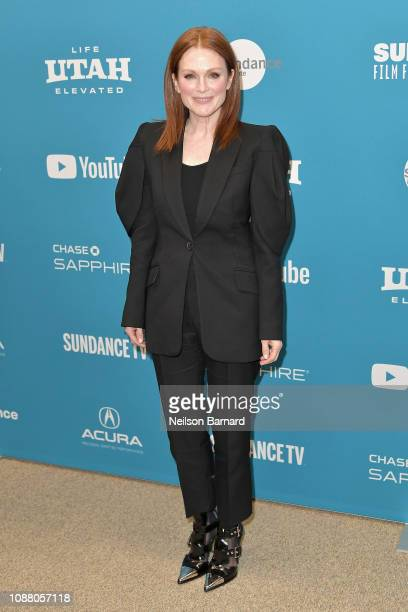 Actor Julianne Moore attends the After the Wedding Premiere during the 2019 Sundance Film Festival at Eccles Center Theatre on January 25 2019 in...