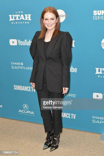 """Actor Julianne Moore attends the """"After the Wedding"""" Premiere during the 2019 Sundance Film Festival at Eccles Center Theatre on January 25, 2019 in..."""
