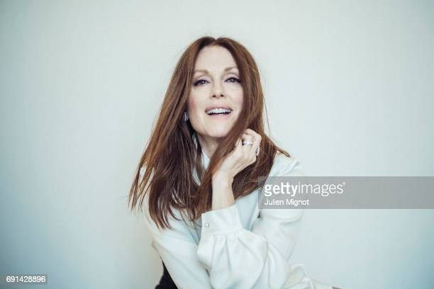 Actor Julianne Moore is photographed for Grazia magazine on May 17 2017 in Cannes France Published image