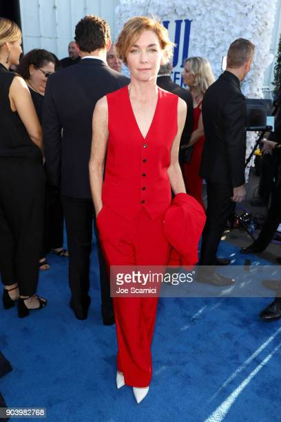 Actor Julianne Nicholson attends the 23rd Annual Critics' Choice Awards on January 11 2018 in Santa Monica California