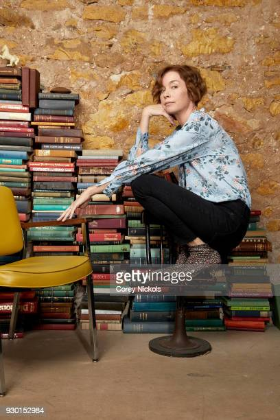 Actor Julianne Nicholson from the film Who We Are Now poses for a portrait in the Getty Images Portrait Studio Powered by Pizza Hut at the 2018 SXSW...