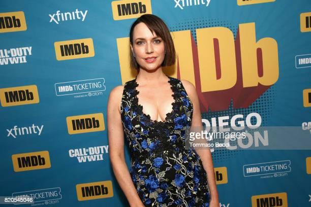 Actor Julie Ann Emery attends the #IMDboat Party at San Diego ComicCon 2017 Presented By XFINITY on The IMDb Yacht on July 21 2017 in San Diego...