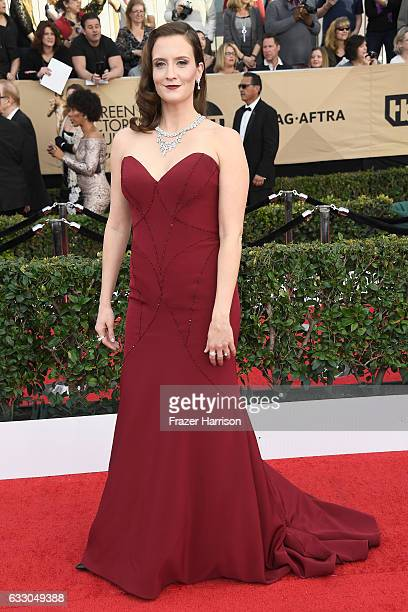 Actor Julie Lake attends The 23rd Annual Screen Actors Guild Awards at The Shrine Auditorium on January 29 2017 in Los Angeles California 26592_008