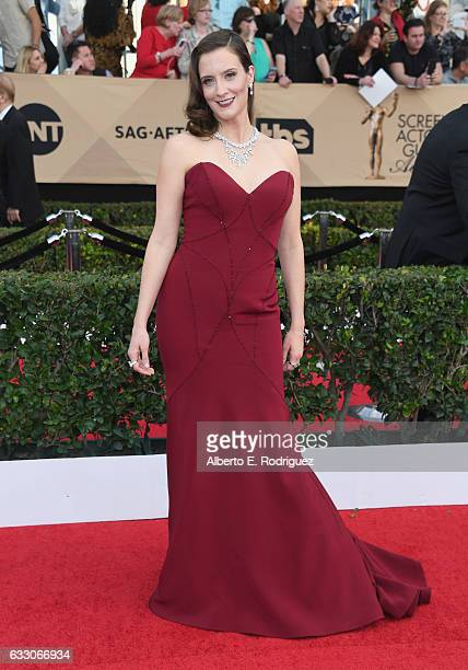 Actor Julie Lake attends the 23rd Annual Screen Actors Guild Awards at The Shrine Expo Hall on January 29 2017 in Los Angeles California