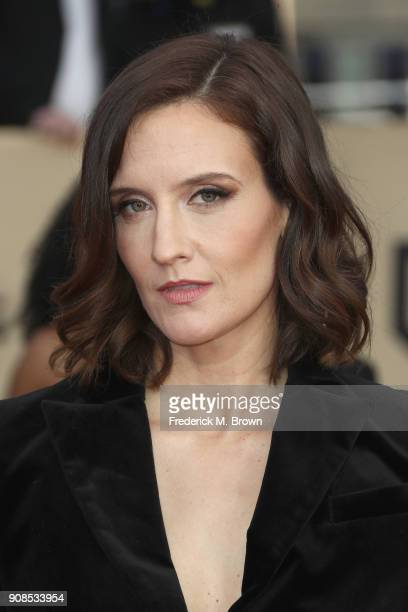 Actor Julie Lake attends the 24th Annual Screen Actors Guild Awards at The Shrine Auditorium on January 21 2018 in Los Angeles California 27522_017