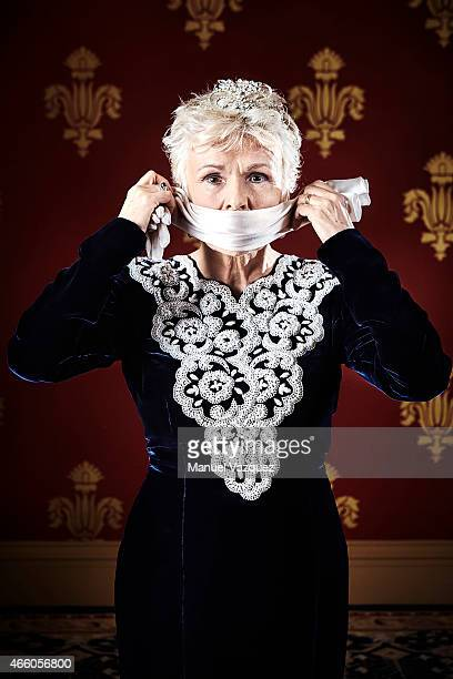 Actor Julie Walters is photographed for the Guardian on January 7 2015 in London England