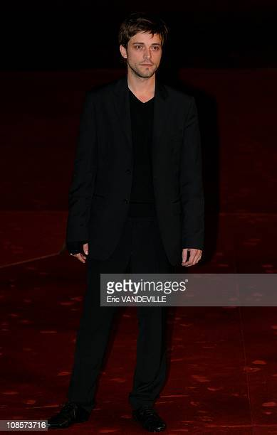 Actor Julien Baumgartner 3rd Rome Film Festival Premiere of the French film 'Le Plaisir de chanter ' in Rome Italy on October 28 2008