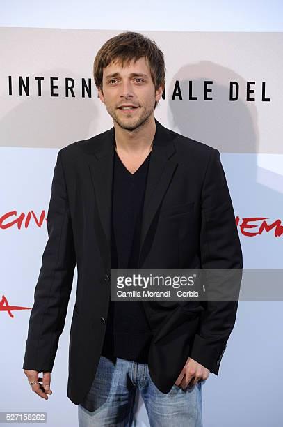 Actor Julien Baumgartner attends the photo call of Le Plaisir de Chanter during the 2008 Rome International Film Festival