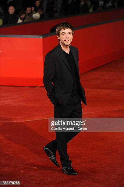 Actor Julien Baumgartner attends the premiere of the movie Aidetoi et le ciel t'aidera during the 2008 Rome International Film Festival