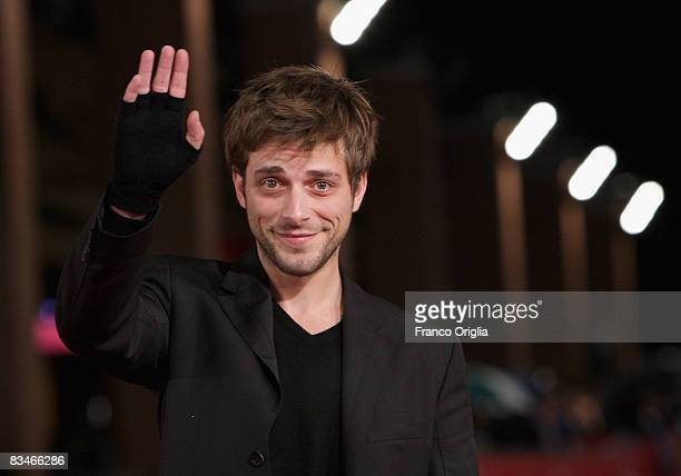 Actor Julien Baumgartner attends the 'The Joy Of Singing' premiere during the 3rd Rome International Film Festival held at the Auditorium Parco della...