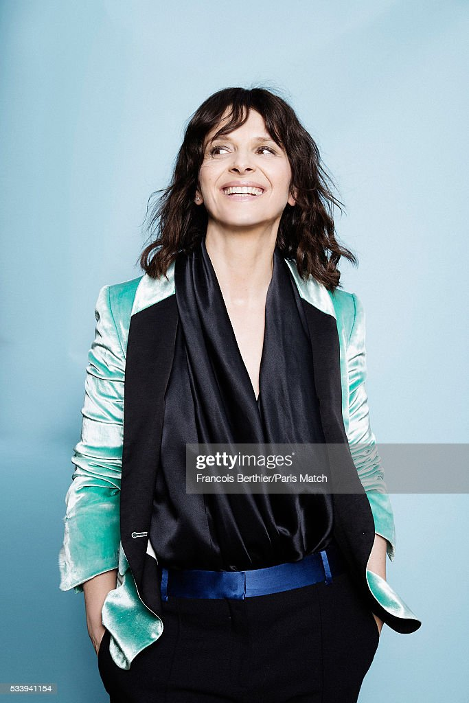 Juliette Binoche, Paris Match Issue 3496, May 25, 2016