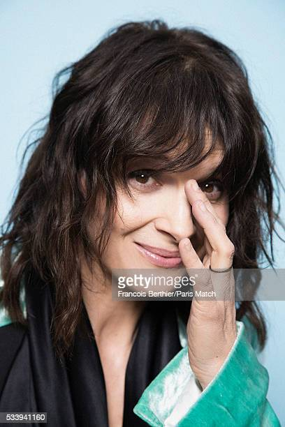 Actor Juliette Binoche is photographed for Paris Match on May 9 2016 in Paris France