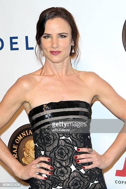 Actor Juliette Lewis attending Friars Club Honors Martin Scorsese with Entertainment Icon Award at Cipriani Wall Street on September 21 2016 in New...