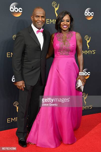 Actor Julius Tennon and actress Viola Davis attend the 68th Annual Primetime Emmy Awards at Microsoft Theater on September 18, 2016 in Los Angeles,...