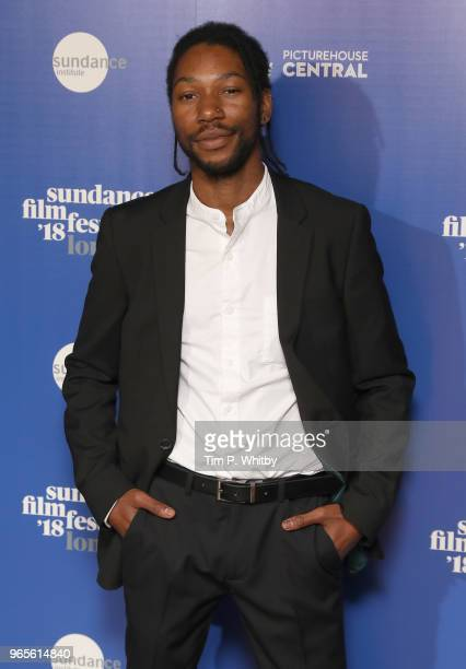 40ee321bb044 Actor Jumayn Hunter attends the  Yardie  red carpet arrivals during the Sundance  Film Festival