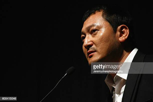 Actor Jung Mansik attends the Asura The City Of Madness premiere held at The Elgin during the Toronto International Film Festival on September 13...
