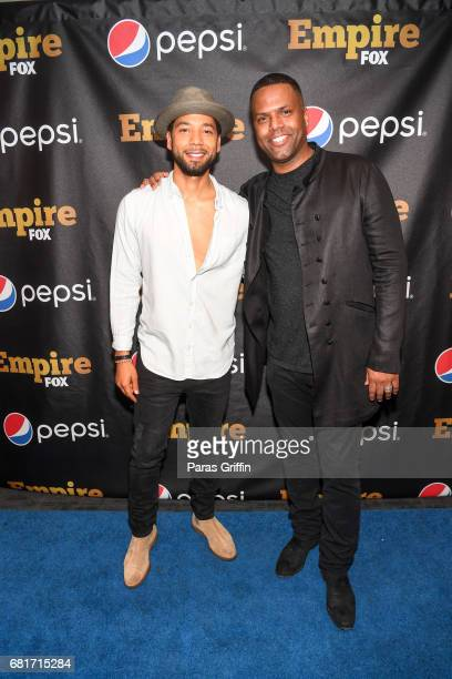 Actor Jussie Smollett and TV personality AJ Calloway host exclusive EMPIRE watch event and musical tribute premiere hosted by Pepsi at W Midtown...