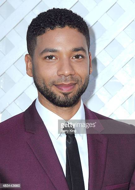 Actor Jussie Smollett attends the 17th Annual DesignCare Gala at The Lot Studios on August 8 2015 in Los Angeles California