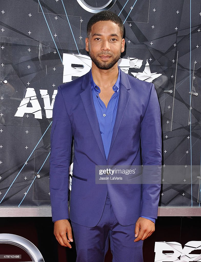 Actor Jussie Smollett attends the 2015 BET Awards at the Microsoft Theater on June 28, 2015 in Los Angeles, California.