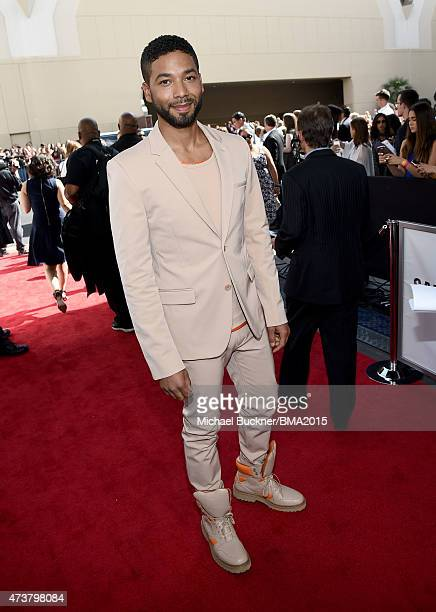 Actor Jussie Smollett attends the 2015 Billboard Music Awards at MGM Grand Garden Arena on May 17 2015 in Las Vegas Nevada