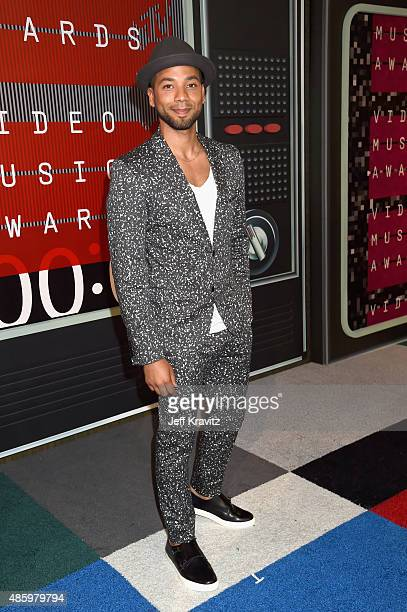 Actor Jussie Smollett attends the 2015 MTV Video Music Awards at Microsoft Theater on August 30 2015 in Los Angeles California