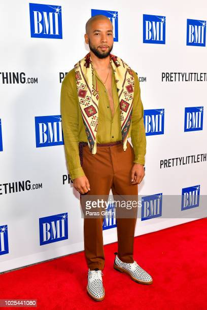 Actor Jussie Smollett attends the 2018 BMI RB/HipHop Awards at Woodruff Arts Center on August 30 2018 in Atlanta Georgia