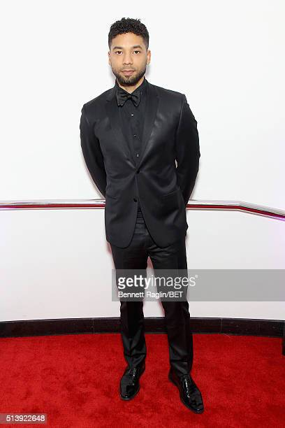 Actor Jussie Smollett attends the BET Honors 2016 at Warner Theatre on March 5 2016 in Washington DC