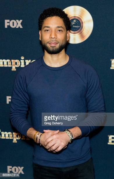 Actor Jussie Smollett attends the Spring Premiere Of FOX's 'Empire' at Pacific Theatres at The Grove on March 20 2017 in Los Angeles California