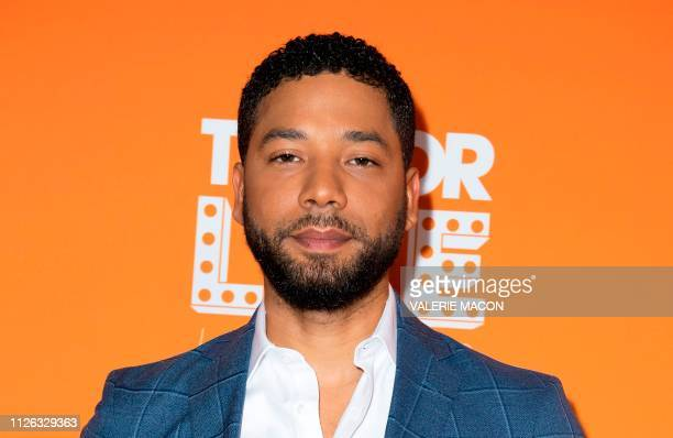 Actor Jussie Smollett attends the Trevor Live Los Angeles Gala 2018, in Beverly Hills, California on December 2, 2018.