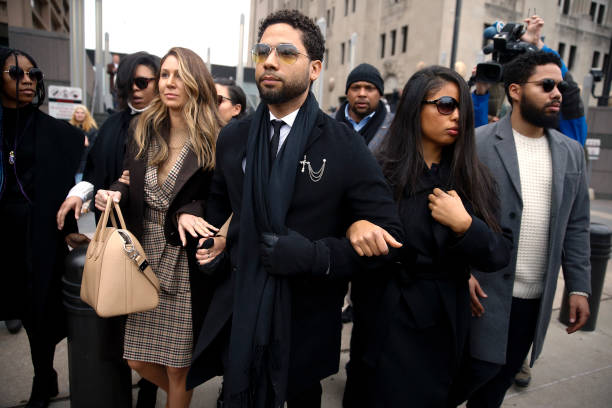 IL: Actor Jussie Smollett Returns To Court After New Grand Jury Indictment