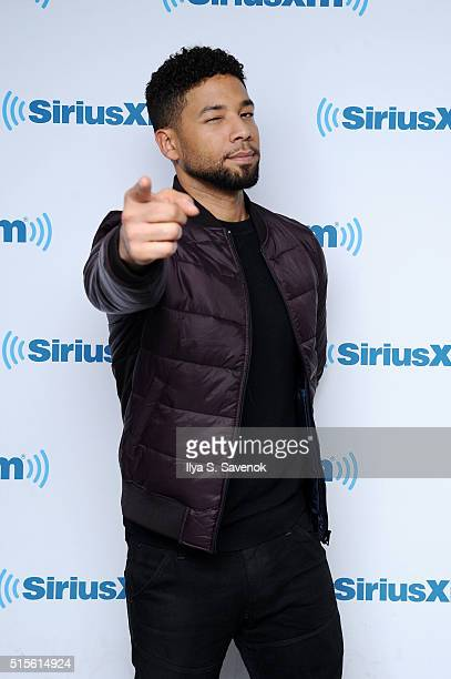 Actor Jussie Smollett visits the SiriusXM Studio on March 14 2016 in New York City
