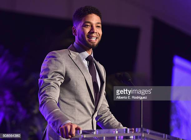 Actor Jusssie Smollett attends the 47th NAACP Image Awards NonTelevised Awards Ceremony on February 4 2016 in Pasadena California
