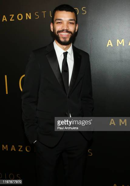 Actor Justice Smith attends Amazon Studios Golden Globes after party at The Beverly Hilton Hotel on January 05, 2020 in Beverly Hills, California.