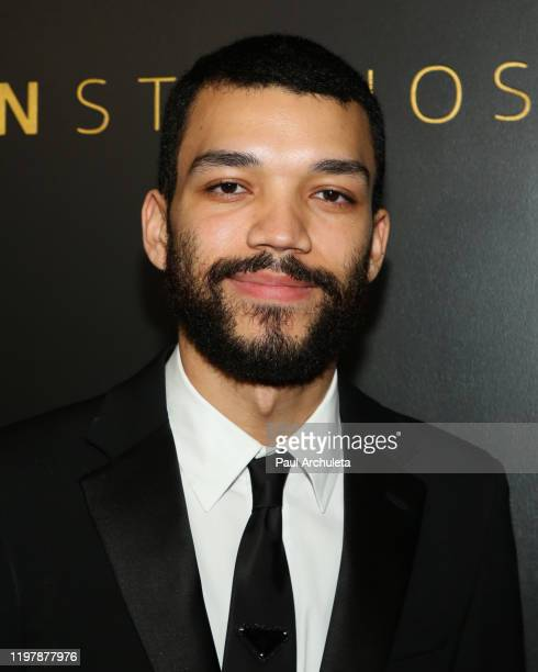 Actor Justice Smith attends Amazon Studios Golden Globes after party at The Beverly Hilton Hotel on January 05 2020 in Beverly Hills California