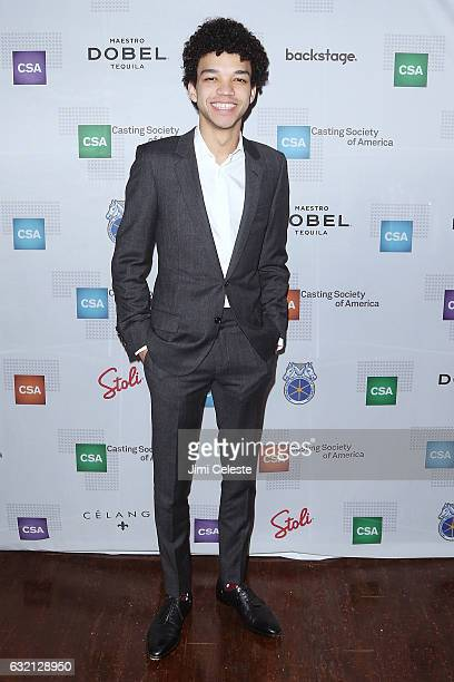 Actor Justice Smith attends the 32nd Annual Artios Awards at Stage 48 on January 19 2017 in New York City
