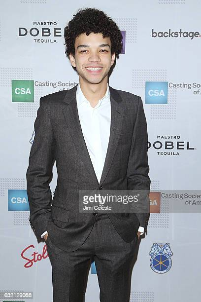 Actor Justice Smith attends the 32nd Annual Artios Awards at Stage 48 on January 19, 2017 in New York City.