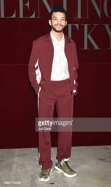 Actor Justice Smith attends the photocall for Valentino TKY 2019 Pre-Fall Collection at Terada Warehouse on November 27, 2018 in Tokyo, Japan.