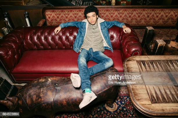 Actor Justice Smith is photographed for The Hollywood Reporter on October 22 2016 in New York City PUBLISHED IMAGE