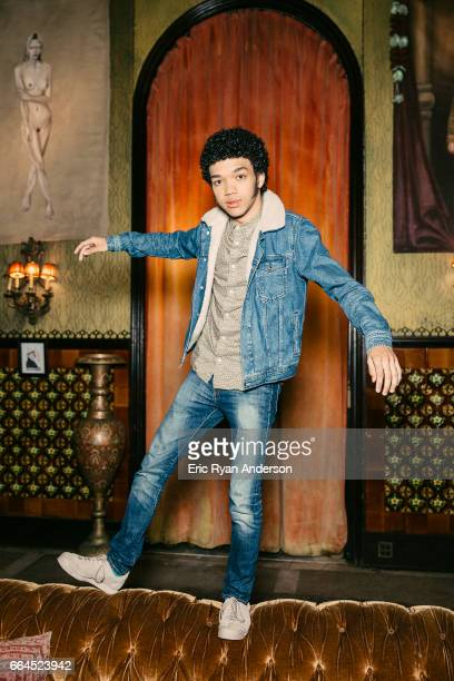 Actor Justice Smith is photographed for The Hollywood Reporter on October 22 2016 in New York City