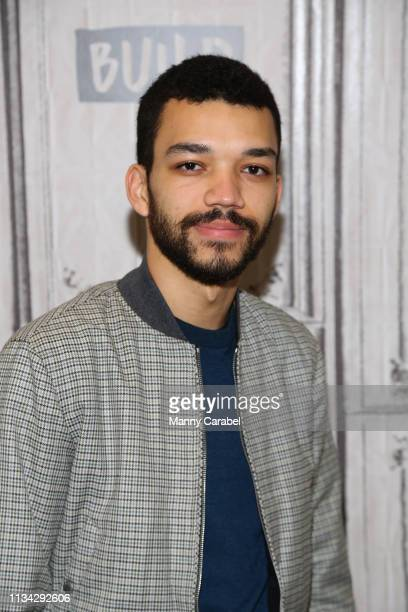 Actor Justice Smith visits Build Series to discuss the US premiere of 'The Mother' at Build Studio on March 07 2019 in New York City