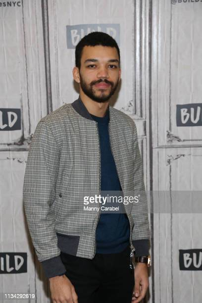 Actor Justice Smith visits Build Series to discuss the U.S. Premiere of 'The Mother' at Build Studio on March 07, 2019 in New York City.
