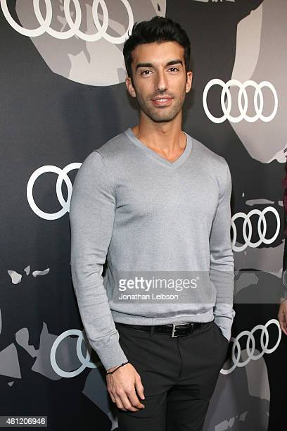 Actor Justin Baldoni attends Audi celebrates Golden Globes Week 2015 at Cecconi's Restaurant on January 8 2015 in Los Angeles California