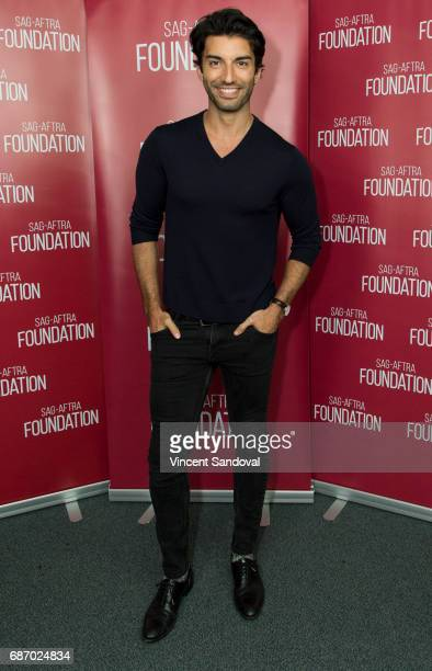 Actor Justin Baldoni attends SAGAFTRA Foundation's Conversations with 'Jane The Virgin' at SAGAFTRA Foundation Screening Room on May 22 2017 in Los...
