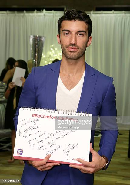 Actor Justin Baldoni attends the Backstage Creations retreat at Teen Choice 2015 on August 16 2015 in Los Angeles California