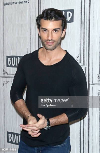 Actor Justin Baldoni attends the Build Series to discuss 'Jane The Virgin' and 'Man Enough' at Build Studio on January 16 2018 in New York City