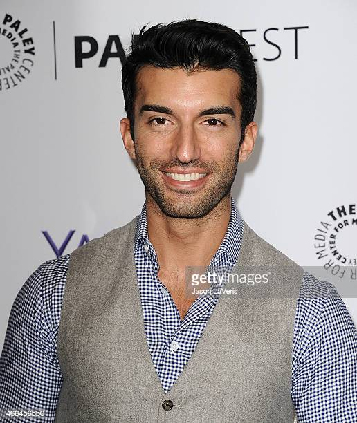 Actor Justin Baldoni attends the 'Jane The Virgin' event at the 32nd annual PaleyFest at Dolby Theatre on March 15 2015 in Hollywood California
