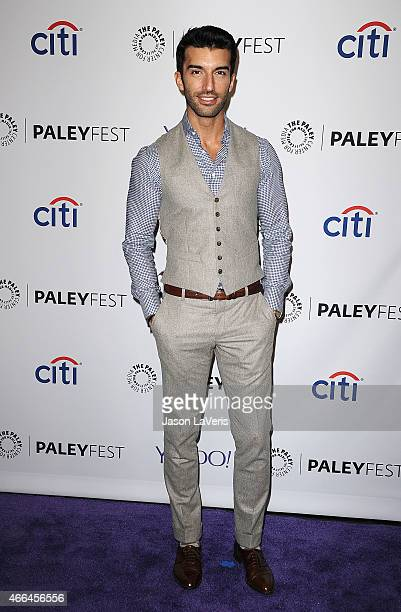 Actor Justin Baldoni attends the Jane The Virgin event at the 32nd annual PaleyFest at Dolby Theatre on March 15 2015 in Hollywood California