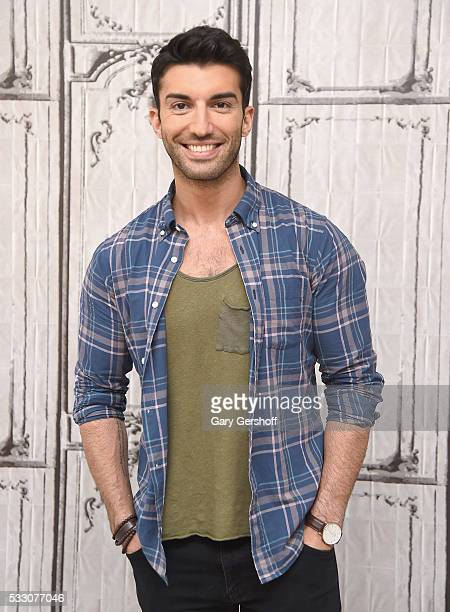 Actor Justin Baldoni discusses his app Belly Bump during AOL BUILD Presents Series at AOL Studios In New York on May 20 2016 in New York City