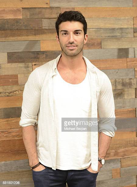 Actor Justin Baldoni poses for portrait at Justin Baldoni Travis Clark And Travis Van Winkle Host Exclusive Launch Party For BellyBump on May 14 2016...
